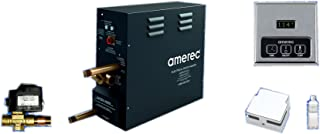 Amerec AK 7.5 KW Steam Bath Generator with KT60 Time and Temperature Control - Steam Head - Autoflush and Free Aroma Therapy Oil
