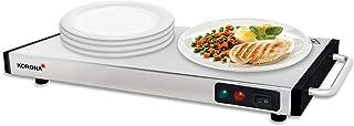 Korona 59500 warmhoudplaat 1100 Watt max. voor het warmhouden van voedsel   draadloos bruikbaar   40 x 20 cm