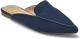 Women Comfort Slide On Sandals Slip On Point Toe Flat Mules