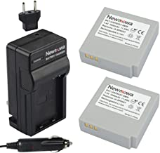 Newmowa IA-BP85ST Replacement Battery (2-Pack) and Charger Kit for Samsung SC-HMX10 SC-HMX10A SC-HMX10C SC-HMX10P SC-HMX20 SC-HMX20C SC-MX10 SC-MX10A SC-MX10P SC-MX10R SC-MX20 SC-MX20B SC-MX20