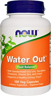 NOW Foods Water Out - 100 Veg Capsules