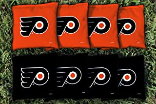 Victory Tailgate NHL Cornhole Game Bag Set (8 Bags Included, Corn-Filled)