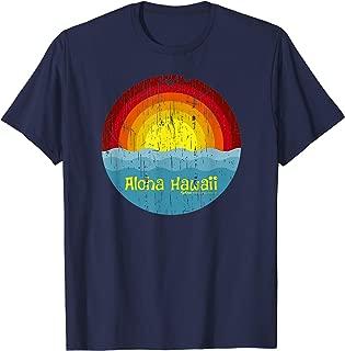 Vintage Hawaiian Islands, Hawaii Aloha State T-Shirt