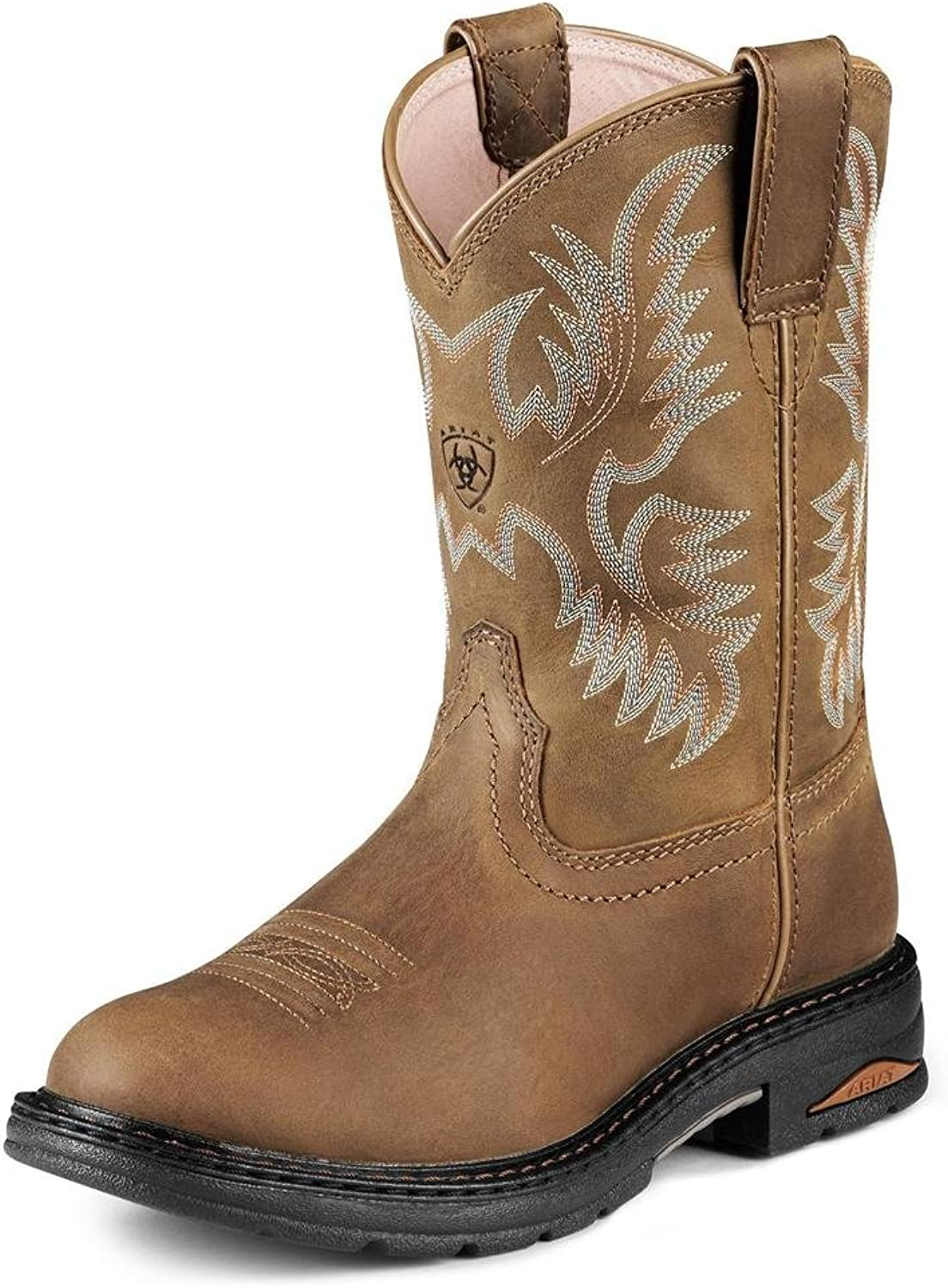Ariat Womens Tracey Pull On Composite Toe Boots 8634B075-7.5 Medium