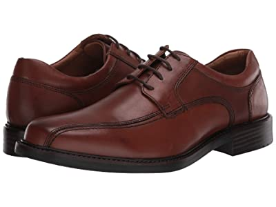 Johnston & Murphy Tabor Runoff Lace-Up (Tan Calfskin) Men