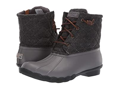 Sperry Saltwater Quilted Wool (Grey) Women