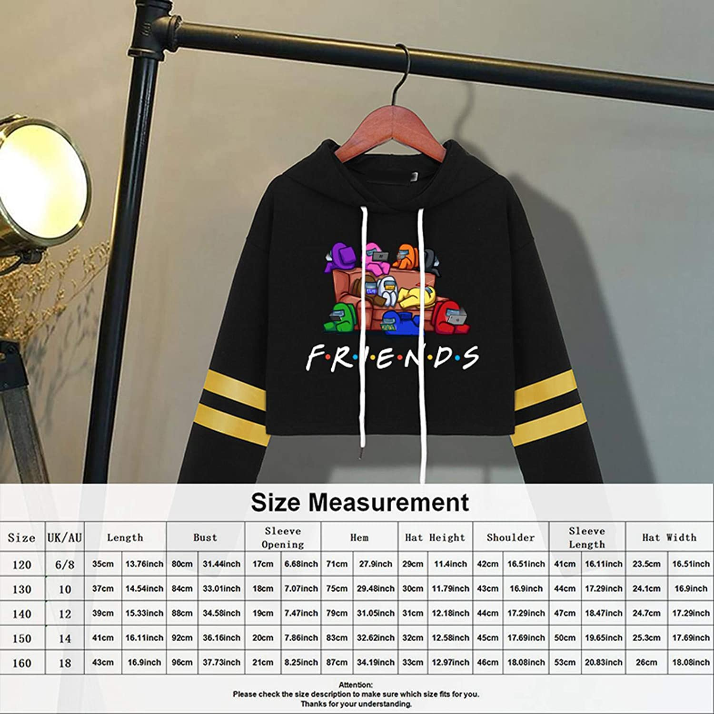 BUBABOX Kids Among Us Hoodies Game Cosplay Pullover Sweatshirt For Kids Boys Girls