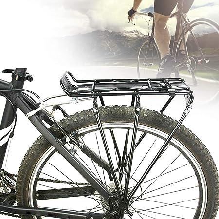 rear bike rack bolt on bicycle carrier rack aluminum alloy bicycle back stand mountain bike cargo rack bike rear shelf bicycle supplies