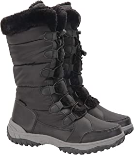 Snowflake Womens Long Snowboots - Snowproof Shoes