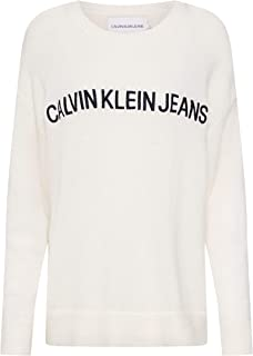 Calvin Klein Pullover Tops For Women, Off White XL