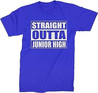 Expression Tees Straight Outta Junior High Mens T-Shirt