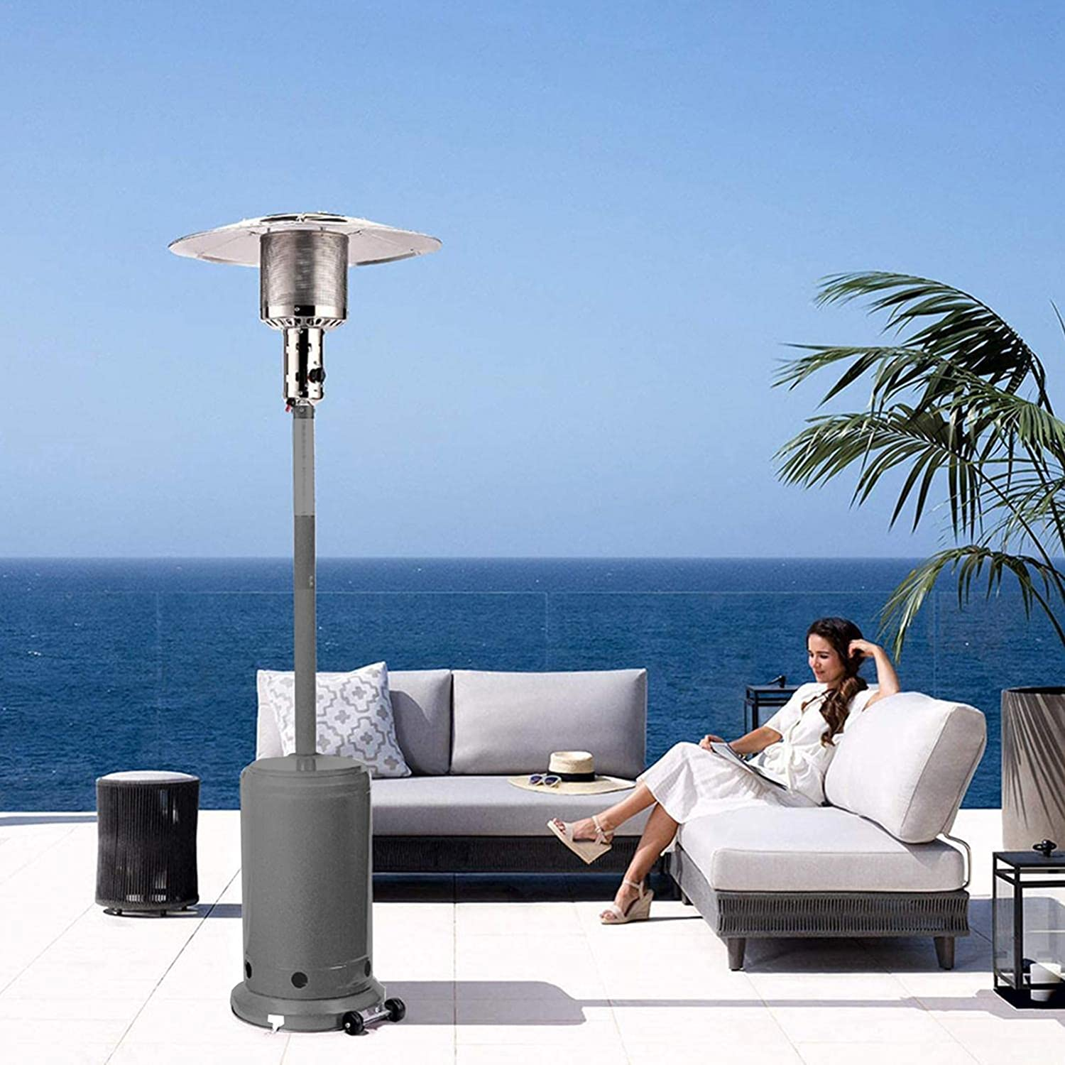 VICXYY Outdoor Heaters for Patio 00 Brand Cheap Sale Venue Max 62% OFF 46 - Propane