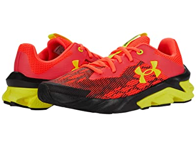 Under Armour Kids Charged Scramjet 3 (Big Kid) (Beta/Black/Yellow Ray) Boy