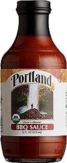 Portland Organic BBQ Sauce by Portlandia Foods (16 fl oz) Naturally Gluten-free, Vegan, non- GMO, Made in Oregon USA