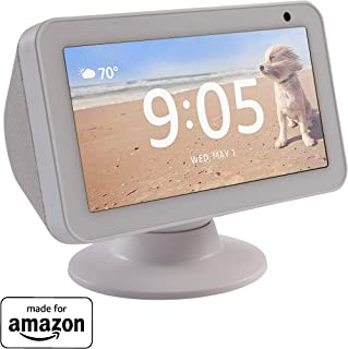 Made for Amazon Tilt + Swivel Stand for the Echo Show 5 - White