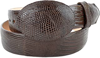 Original Brown Lizard Teju Skin Western Style Belt