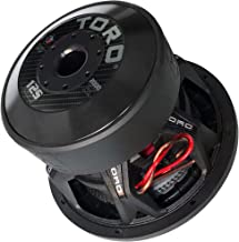 Toro Tech – Force 12S, 12 Inch 2000 Watts RMS – 4000 Watts MAX – Dual 2 Ohm 3 Inch..