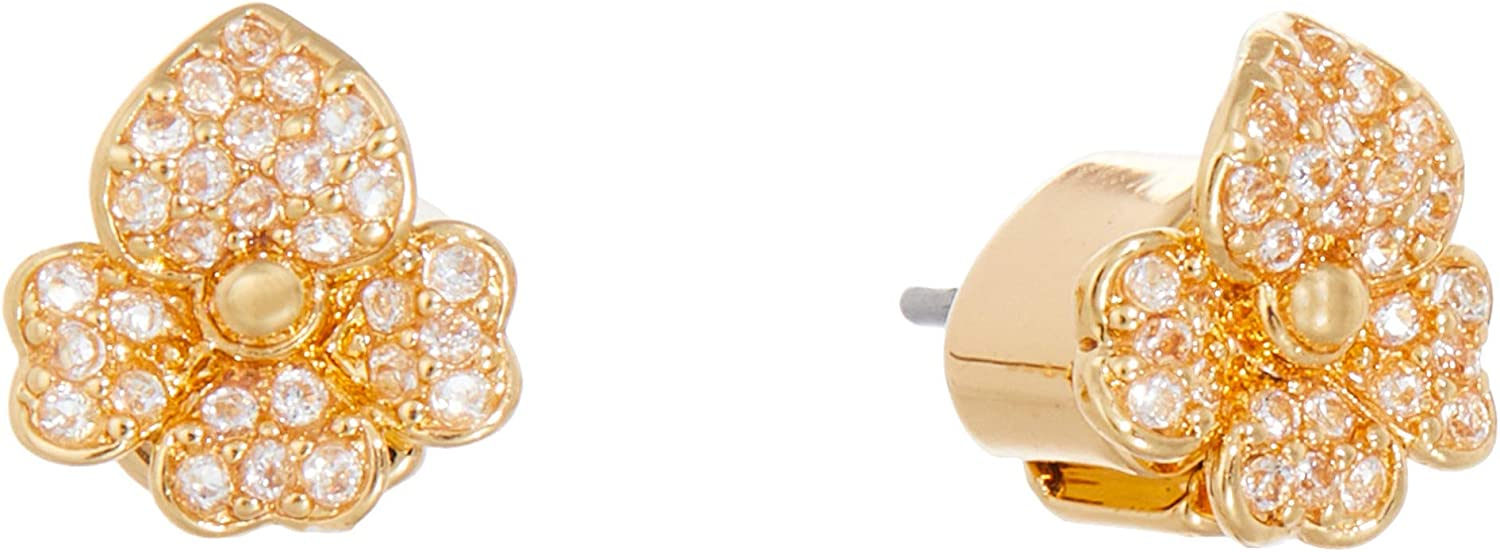 OFFicial Kate Spade New York Precious Stud Pansy New products, world's highest quality popular! Earrings Pave