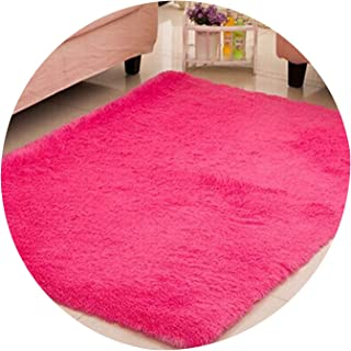 Living Room/Bedroom Rug Anti Skid Soft 150cm 200cm Carpet Modern Carpet mat Purple White Pink Gray 11 Color,010,100x160cm