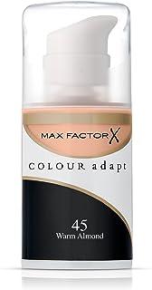 Max Factor Colour Adapt Skin Tone Adapting Foundation 34ml - 45 Warm Almond