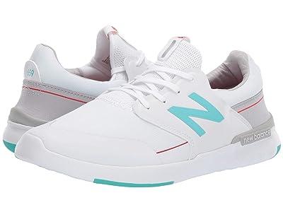 New Balance Numeric AM659 (White/Aqua) Men