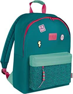 Talkual Girl Power - Mochila Escolar, 41 cm, Multicolor