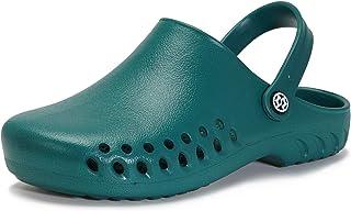 Unisex Garden Clogs Mens Womens Slip on Ultra-Light Mules Sandals Summer Beach Casual Outdoor Water Shoes Walking Slippers...