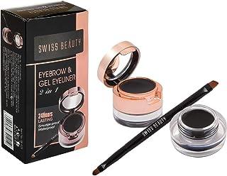 KRG ENTERPRISES Swiss Beauty Beauty Eyebrow and Gel Eyeliner