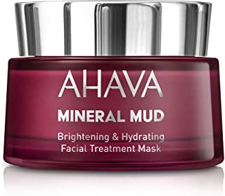 AHAVA Mineral Mud Brightening & Hydrating Facial Treatment Mask, 50ml