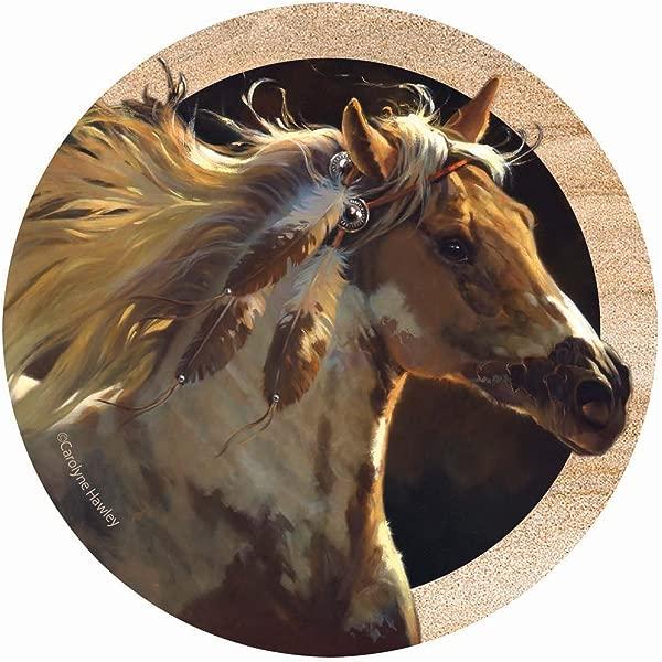 Thirstystone 饮料杯垫灵马