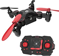 Holy Stone HS190 Foldable Mini Nano RC Drone for Kids Gift Portable Pocket Quadcopter with Altitude Hold 3D Flips and Head...