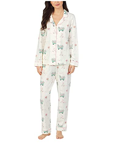 BedHead Pajamas Long Sleeve Classic Pajama Set (Just Married) Women
