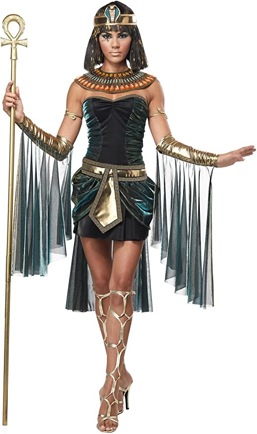 Adulte Costume de d/éguisement Smiffys D/éesse Isis Petit 36//38