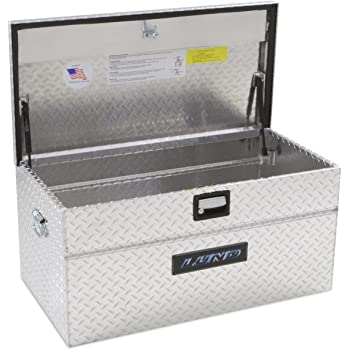 Delta 810000 32 Steel Portable Truck Chest with Mounting Base Plates