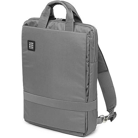 Moleskine ID Collection Borsa a Tracolla Verticale Device Bag per Pc, Tablet, Notebook, Laptop e iPad fino a 15'', Dimensioni 30 x 10 x 38 cm, Colore Grigio Ardesia