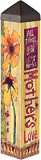 Studio M A Mother`s Love Art Pole Outdoor Decorative Garden Post, Made in USA, 20 Inches Tall