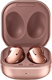 Samsung Galaxy Buds Live, True Wireless Earbuds w/Active Noise Cancelling (Wireless Charging Case Included), Mystic Bronze...