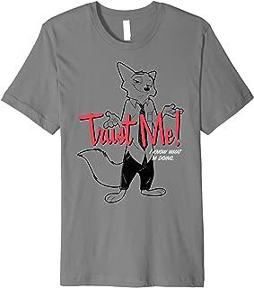 Zootopia Nick Wilde Trust Me I know What I'm Doing Premium T-Shirt