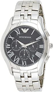 Emporio Armani Classic Men's Black Dial Stainless Steel Band Watch - Ar1786, Chronograph Display