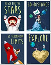 Young N Refined 4 Space posters set (11x14) kids room cute wall art prints