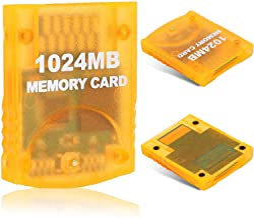 $22 » 1024MB(16344 Blocks) Gamecube Memory Card for Nintendo Wii Game Cube NGC GC (Orange)