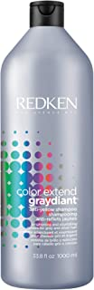 Redken Color Extend Graydiant Purple Shampoo | Hair Toner for Gray & Silver Hair | Tones & Strengthens Hair