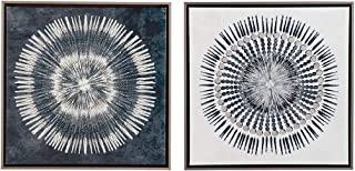 Ashley Furniture Signature Design - Monterey Wall Art - Set of Two - Contemporary - Blue/White