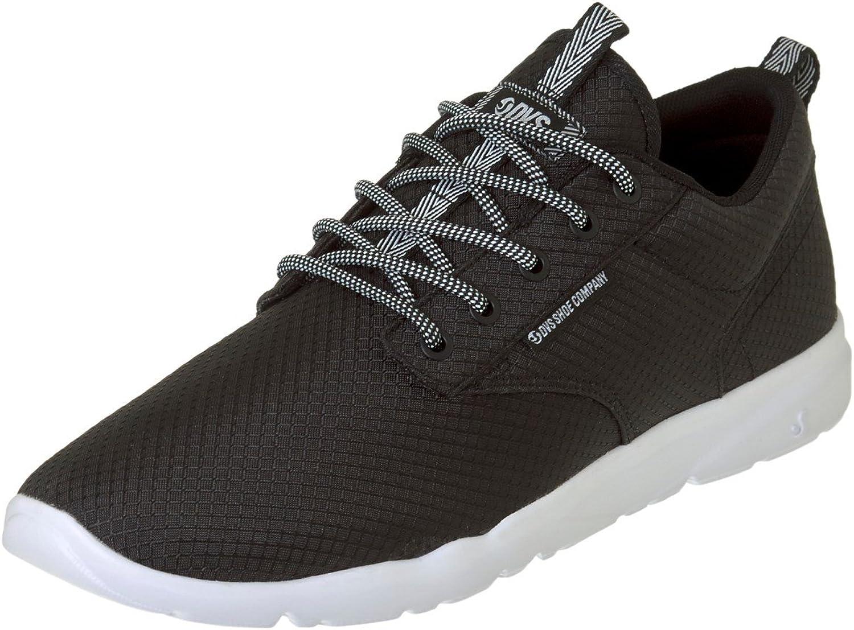 DVS Black White Mesh Premier 2.0 shoes