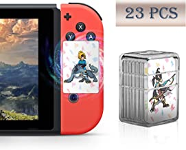 boshile 23 Pcs Botw NFC Cards for The Legend of Zelda Breath of The Wild Switch/Wii U- 23pcs with Crystal Case