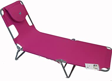 Ostrich Chaise Lounge, Pink