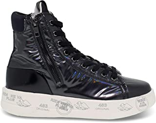 PREMIATA Luxury Fashion Womens EDITH4192 Black Hi Top Sneakers | Fall Winter 19