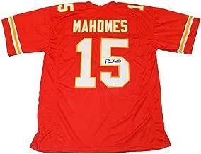 Patrick Mahomes Autographed Jersey - #15 Red - JSA Certified - Autographed NFL Jerseys