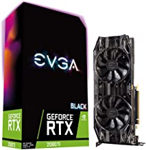 EVGA GeForce RTX 2080 Ti Black Edition Gaming, 11GB GDDR6, Dual HDB Fans & RGB LED Graphics Card 11G-P4-2281-KR (Renewed)