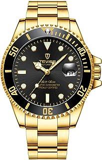 تيفايس ساعة عملية كاجوال رجال انالوج بعقارب ستانلس ستيل - T801 quartz GB